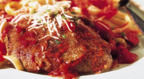 Mediterranean Steak and Pasta
