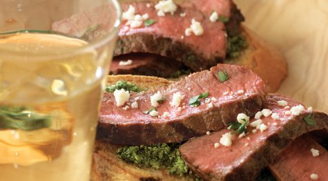 Beef Crostini
