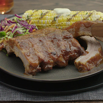 slow roasted ribs