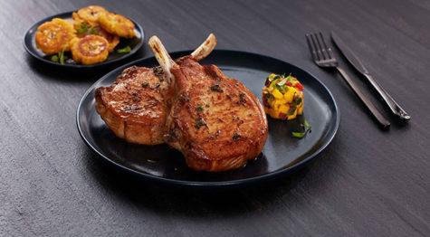 Grilled Bone-In Pork