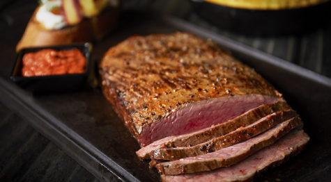 Seared Flat Iron Steak